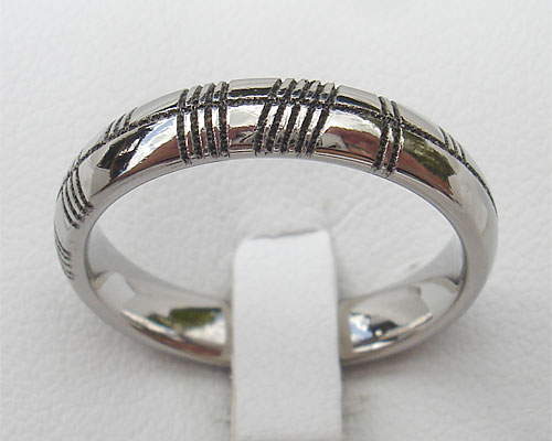 Silver Ogham Ring