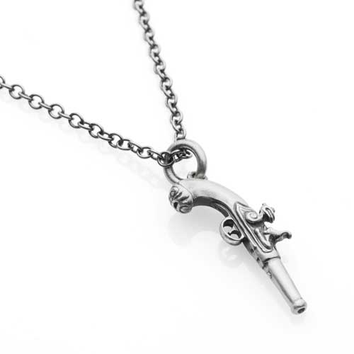 Pirates Of The Caribbean Flintlock Necklace
