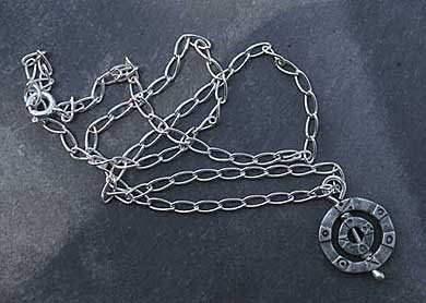 Silver Viking necklace