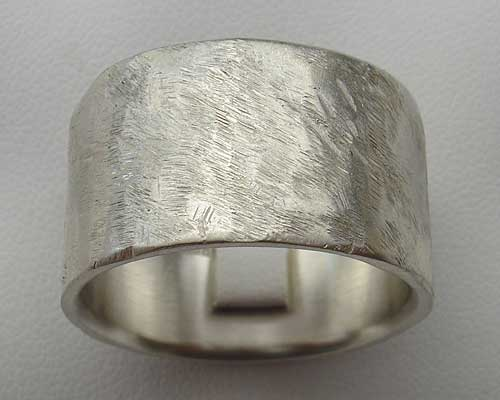 Contemporary Silver Ring For Men