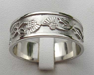 scottish wedding ring