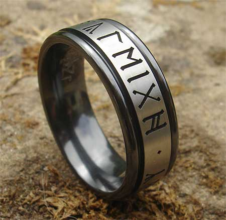 Runic wedding ring