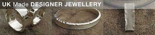 uk made silver designer jewellery