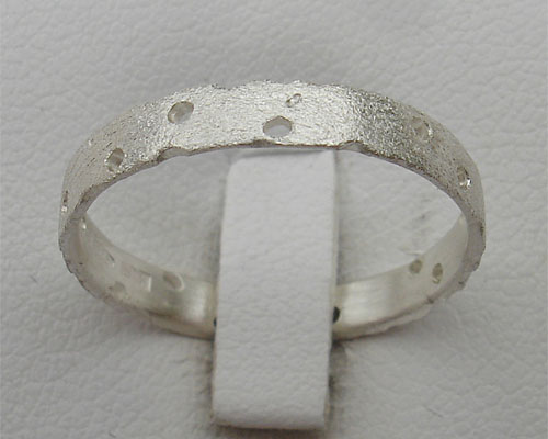 Unique Ladies Designer Silver Ring