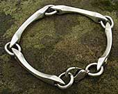 Men's Unusual Sterling Silver Bracelet