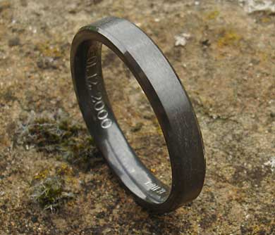 Unusual wedding ring for men