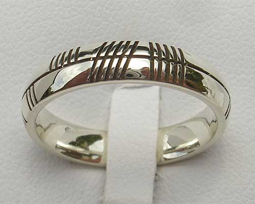 s irish hand model wedding knot celtic rings diamond ogham women handcrafted band bands