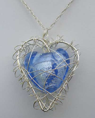 Handmade Heart Necklace For Women