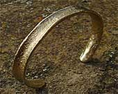 Torc bracelet for women