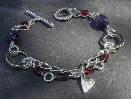 Sterling Silver Celtic Bracelet For Women