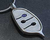 Womens contemporary Celtic pendant
