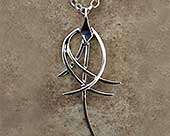 Women's contemporary Gothic necklace