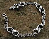 Sterling silver bracelet for women