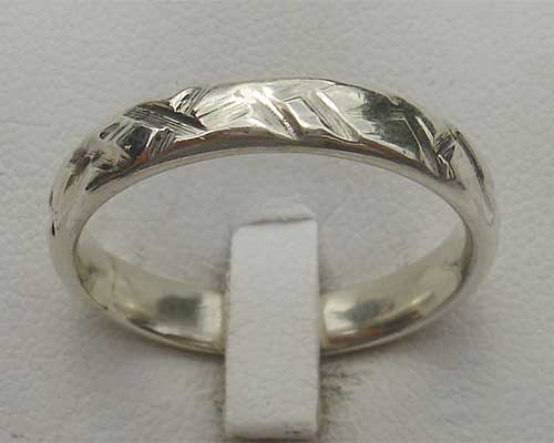 Womens Designer Silver Ring