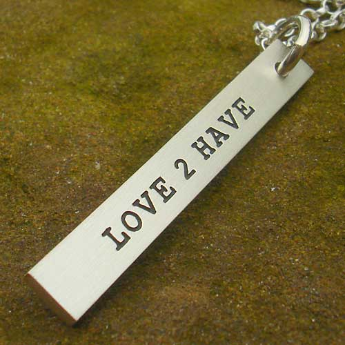 Womens Personalised Necklace