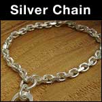 Silver chain bracelets image link