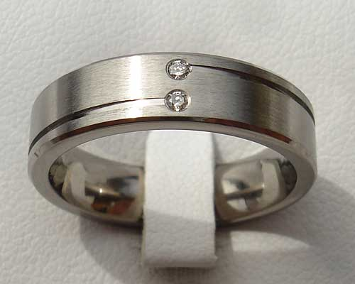 Womens Unusual Diamond Wedding Ring